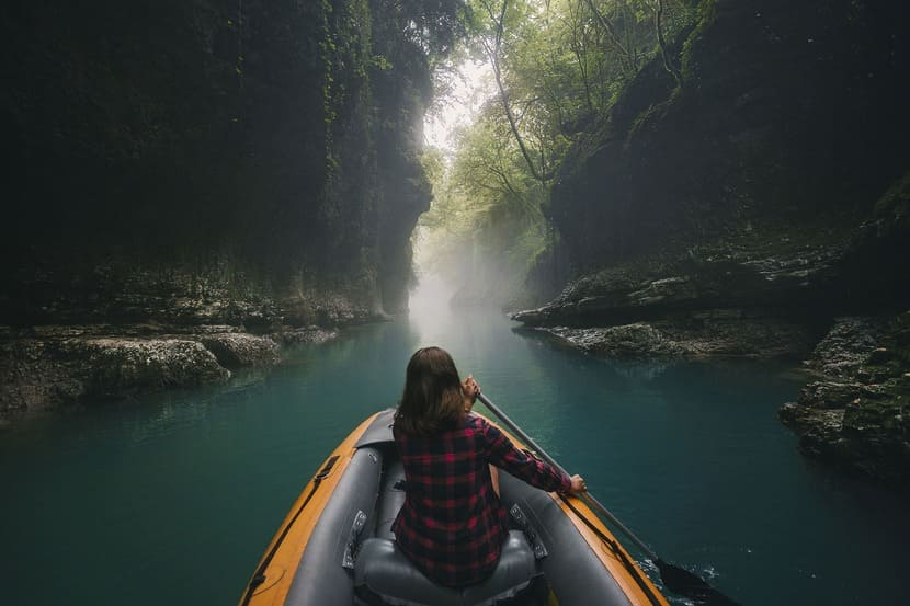 каньон лодка