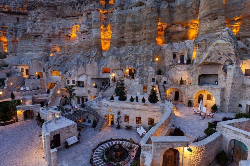 Каппадокия отель в пещерах
