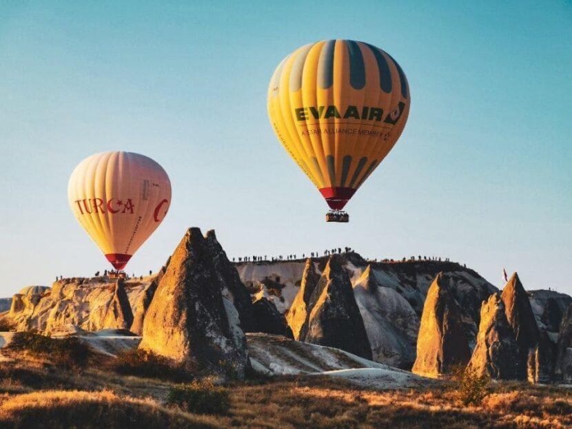 Прогулки на воздушных шарах в Каппадокии