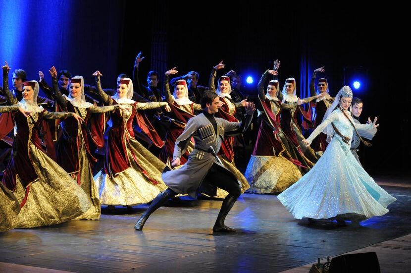 Национальные танцы Грузии