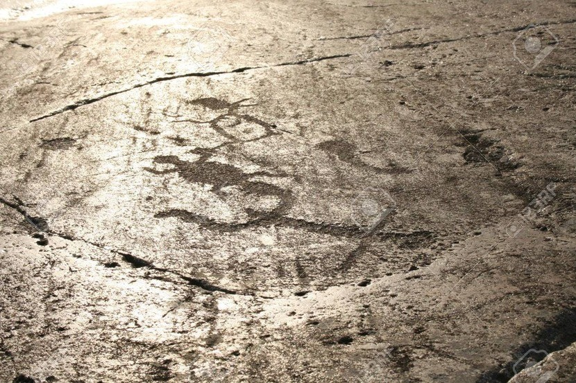 petroglyphs of Onega lake