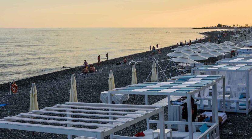 Пляж Барракуда, Адлер