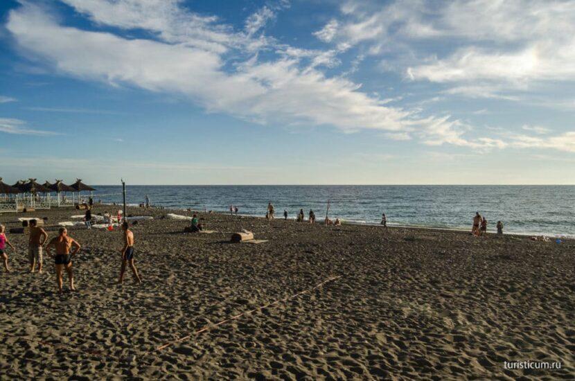 Пляж «Чайка» ,Адлер