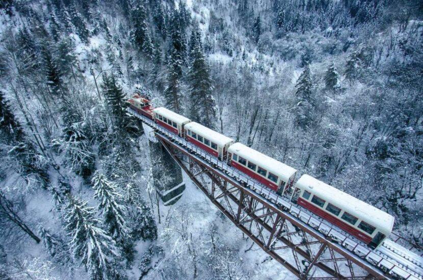 Поезд Кукушка - Бакуриани