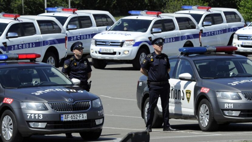 Полиция Тбилиси