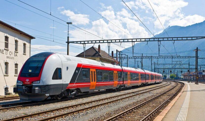 проезд на поезде в Грузии
