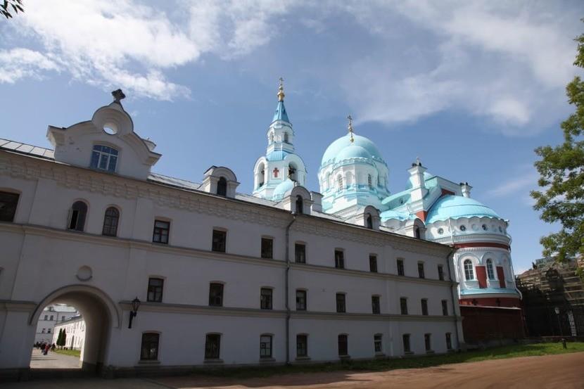 Преображенский монастырь Валаам