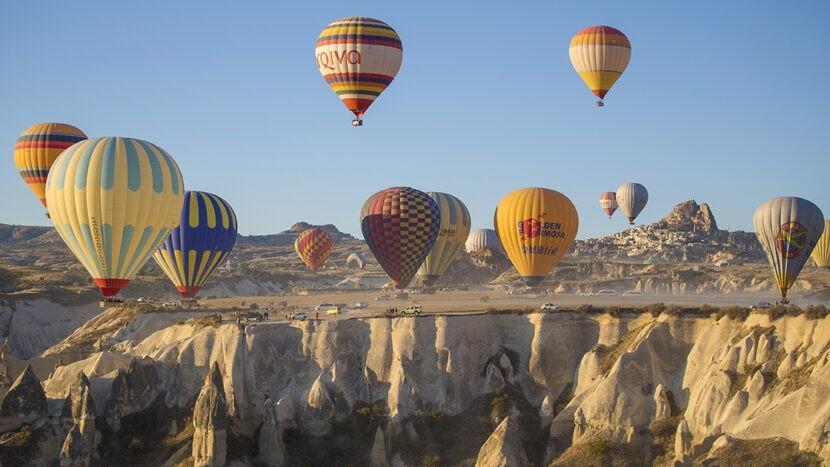 Прогулка на воздушный шарах