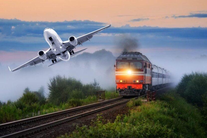 Путешествовать на поезде
