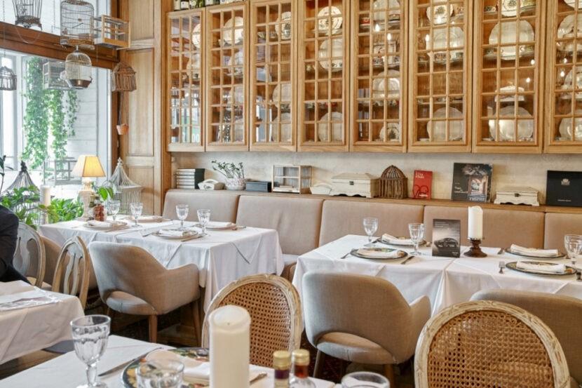 ресторан в Санкт-Петербурге