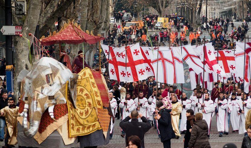 Рождественское шествие Алило