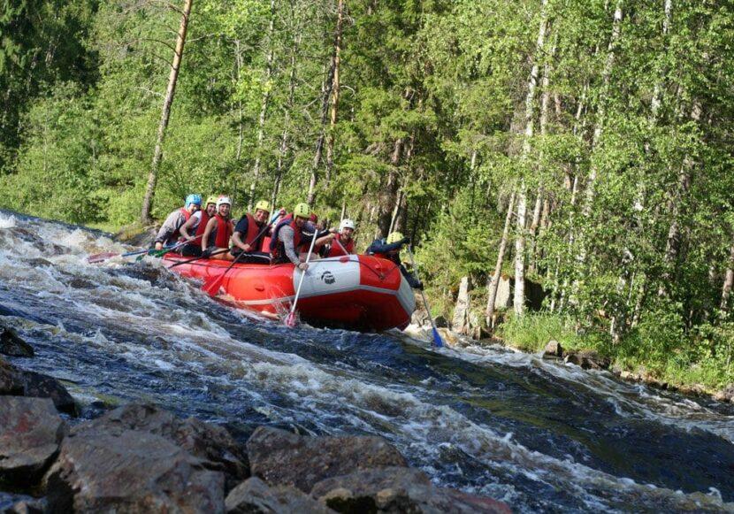 рафтинга по белой воде на Алтае