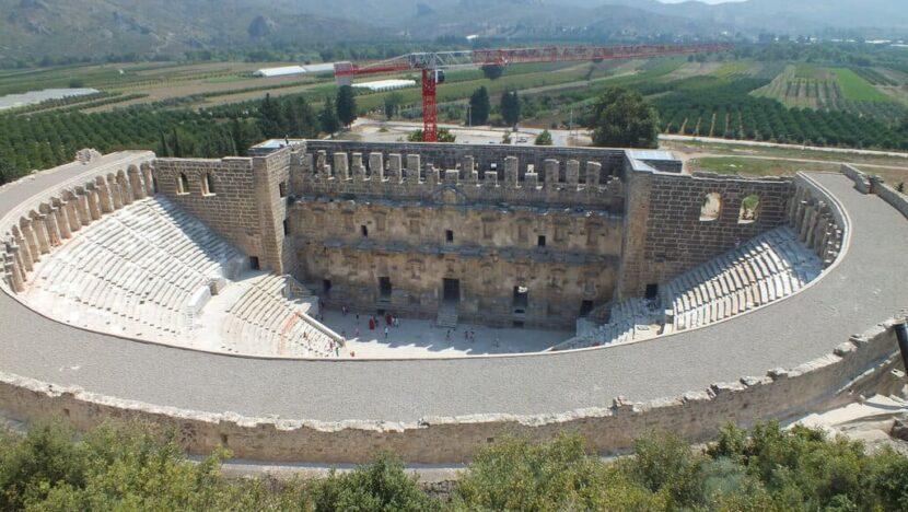 Аспендос - древнейший город в Турции