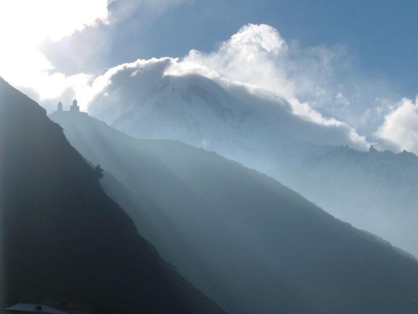 туман Казбек