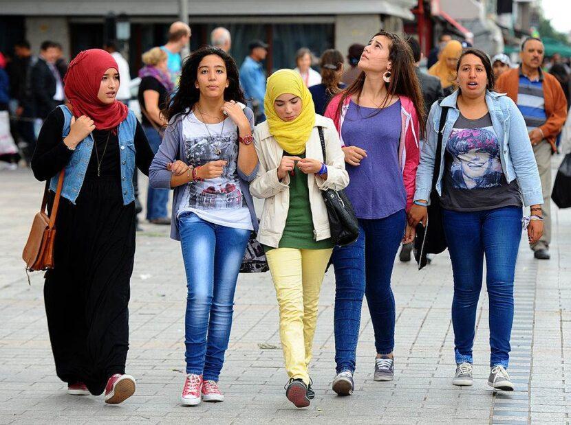 Туристы Турция