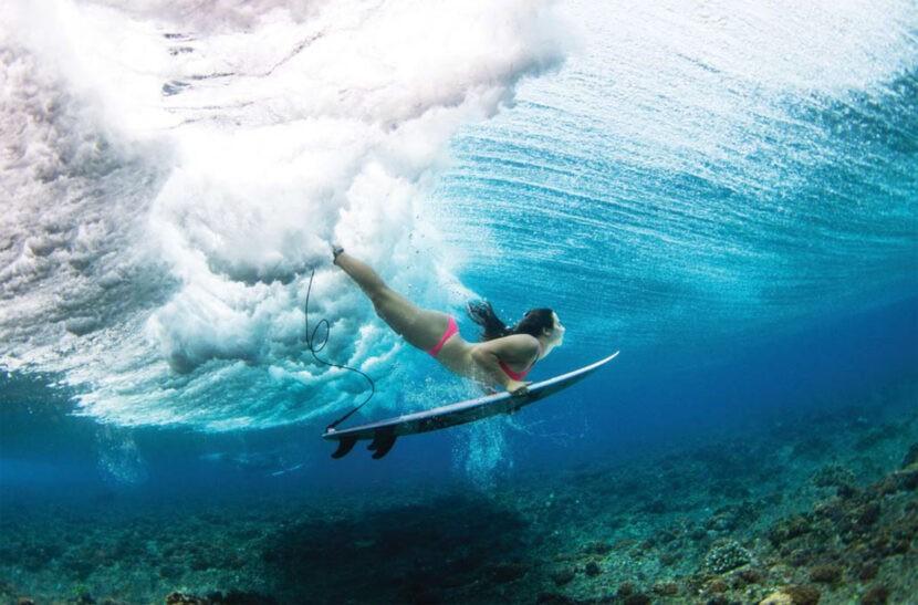 Серфинг и подводное плавание