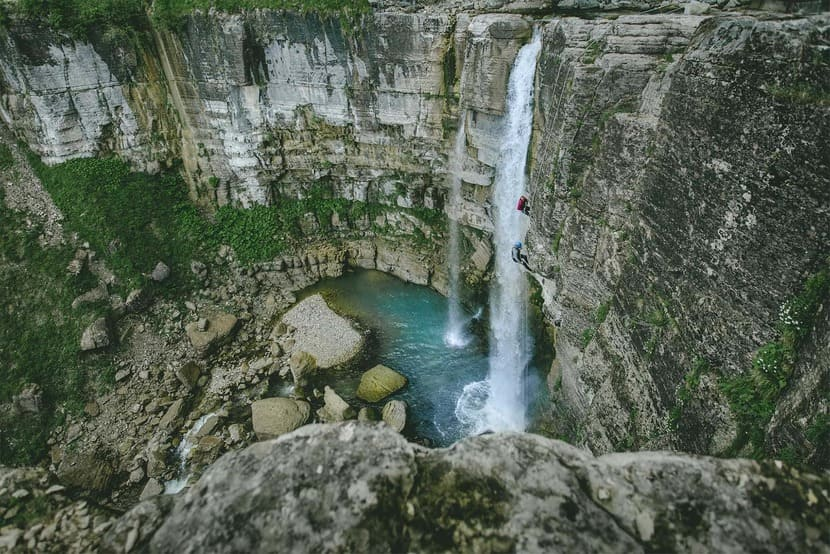 водопад Кичха