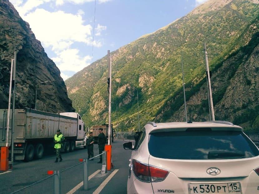 Тбилиси на машине