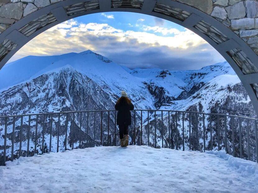 зима Казбеги