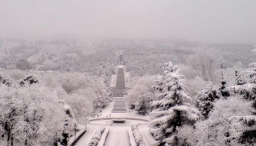 Зимний парк Грузия