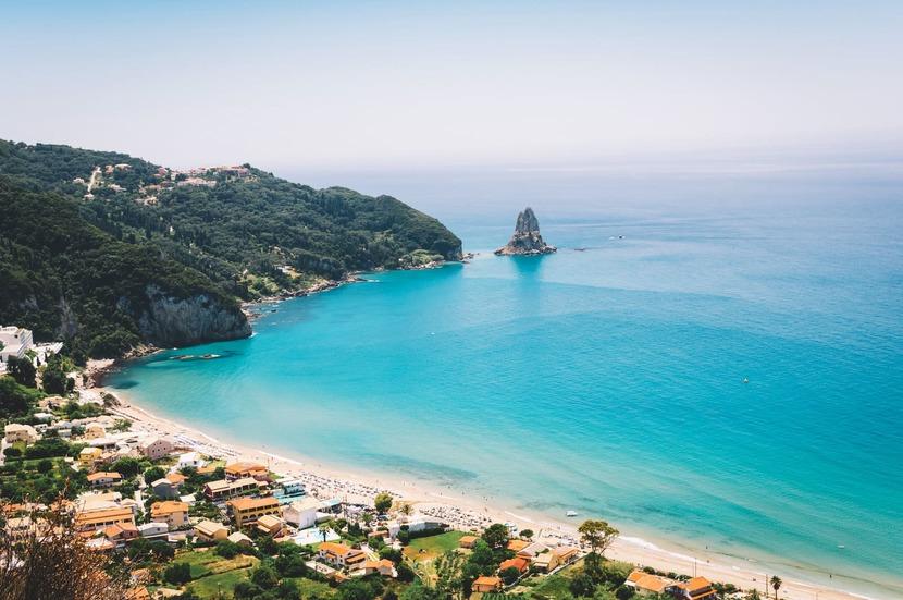 Пляжи Корфу - описание и фото, 22 лучших места