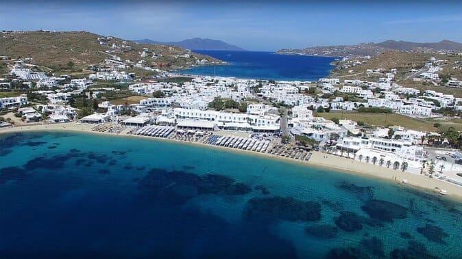 Пляжи Миконоса в Греции - 24 лучших пляжа, фото, описание